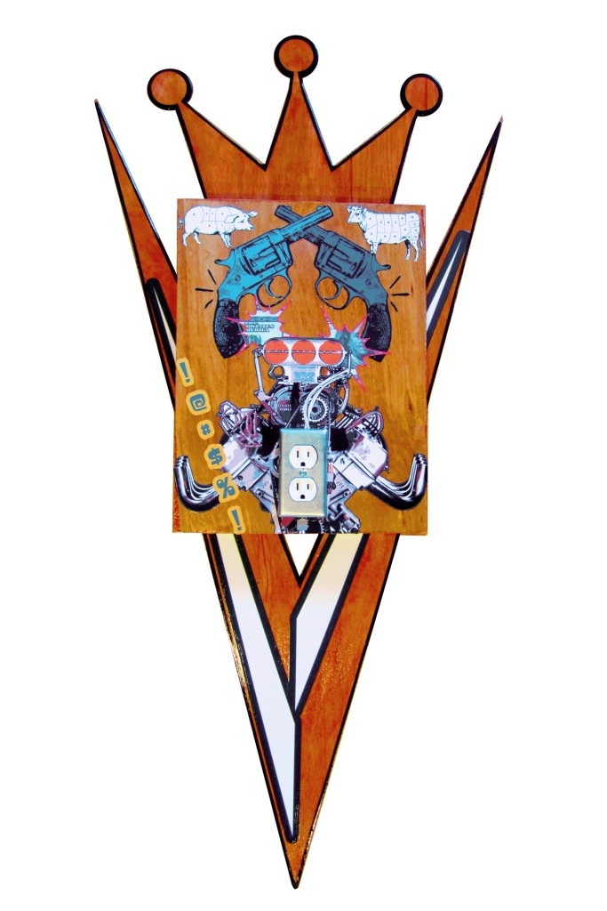 Coat-A-Arms Deluxe, mixed media, 2012